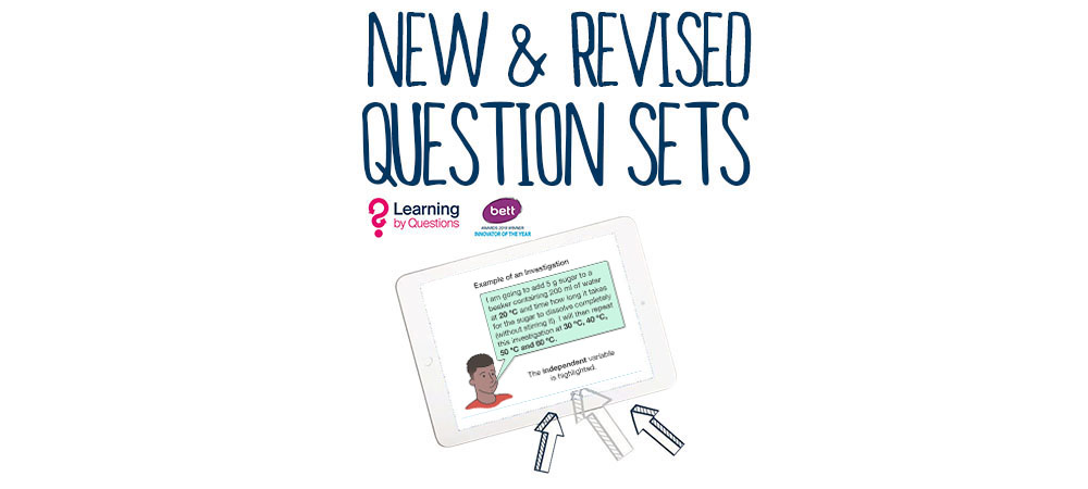 New and Revised Question Sets 18th June 2019