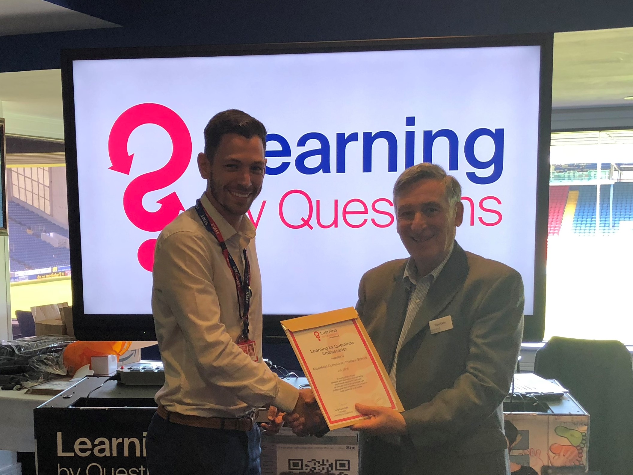 'Learning by Questions' most shortlisted product for BETT Awards 2019