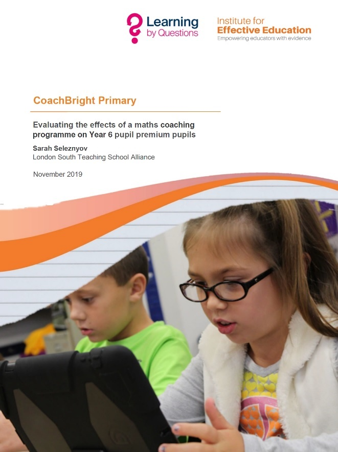 Evaluating the effects of a maths coaching programme on Year 6 pupil premium pupils