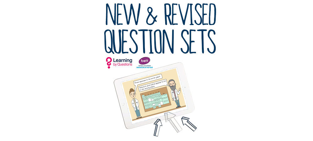 New and Revised Question Sets 10th June 2019