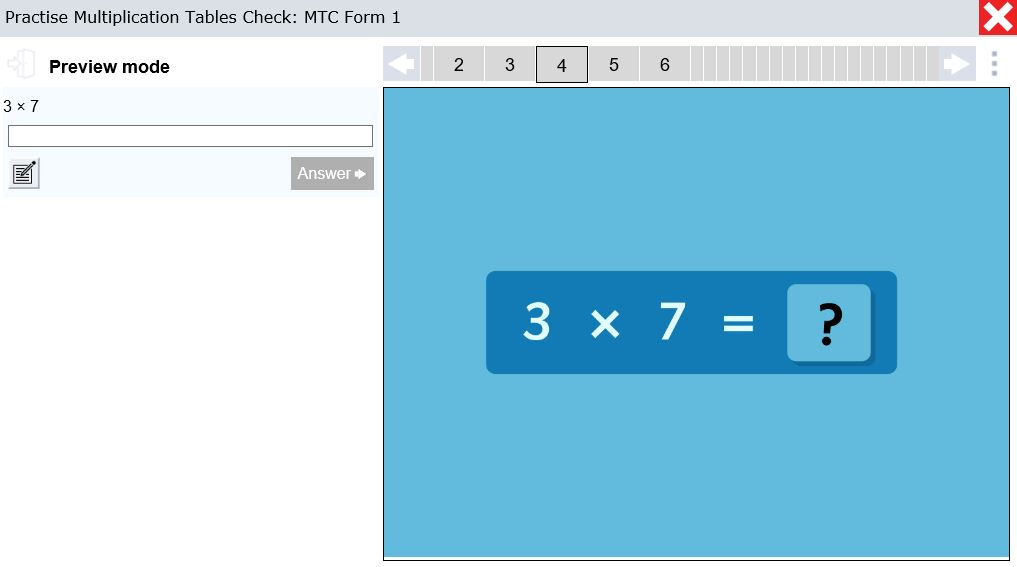 Blaze the trail: 3 ways LbQ can help you prep for the times tables check