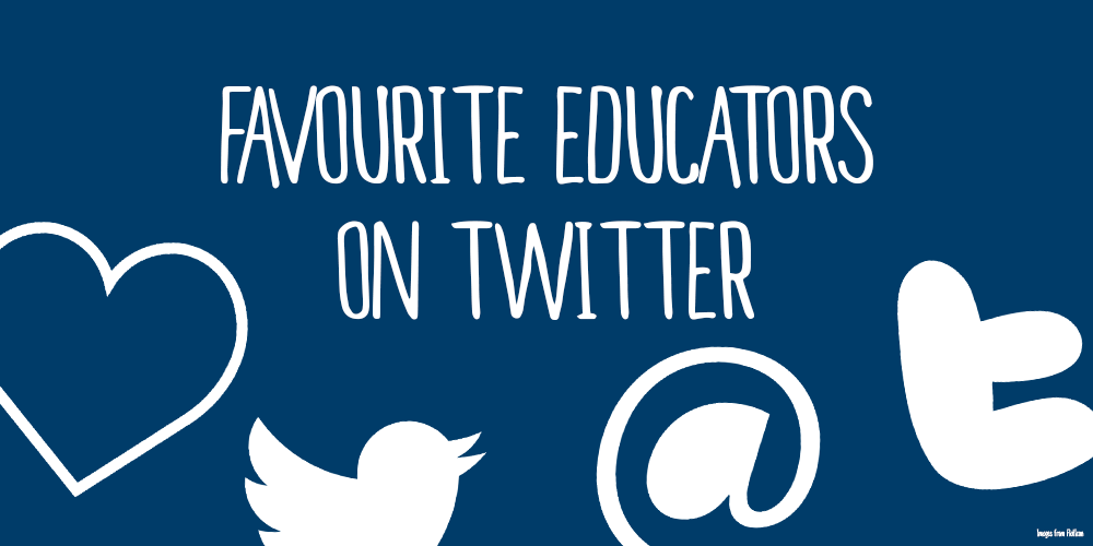 5 favourite educators on Twitter, according to Twitter